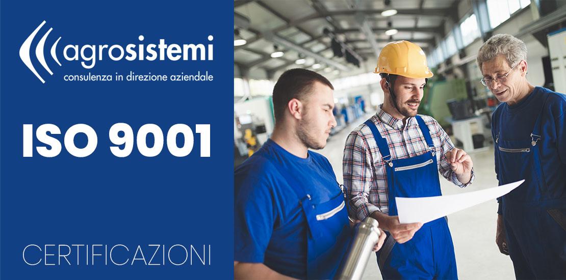 Certificazioni Agrosistemi ISO 9001