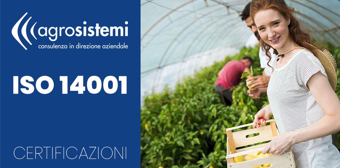 Certificazioni Agrosistemi ISO 14001