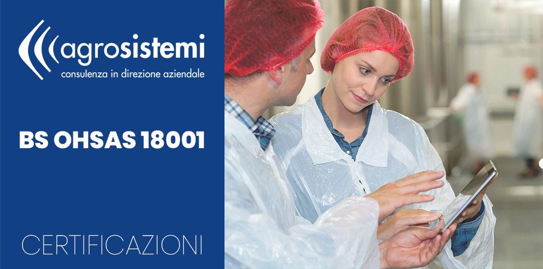 Certificazioni Agrosistemi BS OHSAS 18001