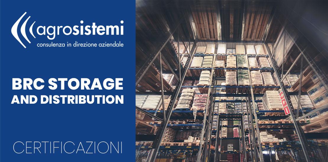 Certificazioni BRC Storage and Distribution