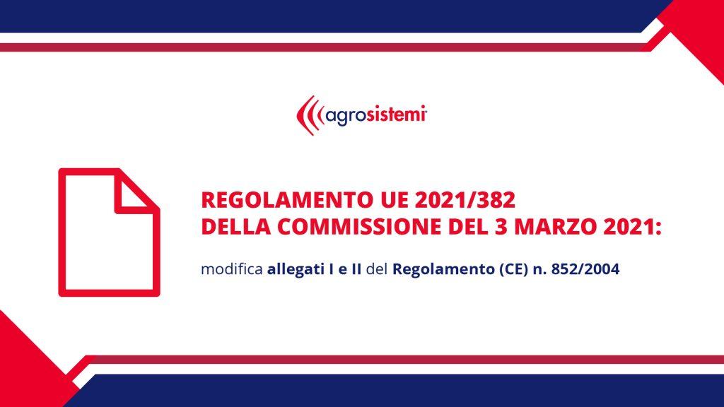 regolamento ue 382/2021